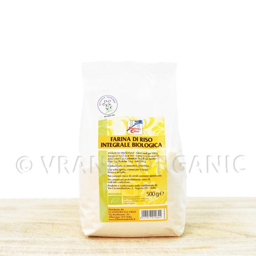 Organic Whole Rice Fluor 500g