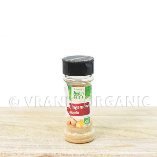 Organic Ginger in powder 25g