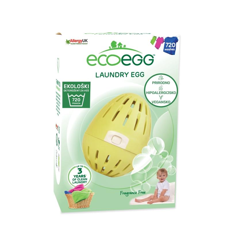 ECOEGG ekološki deterdžent za pranje veša, bez mirisa ( za 720 pranja)
