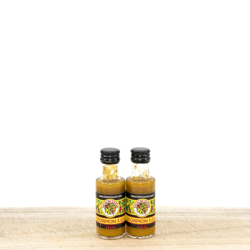 Scorpion Extremely Hot Yellow Pepper Sauce 20 ml