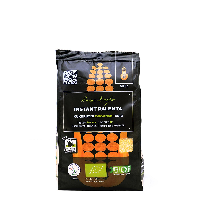 Instant organska palenta - kukuruzni griz (pakovanje 500g)