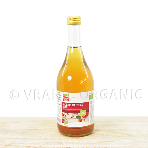 Organic Apple vinegar 0,75l