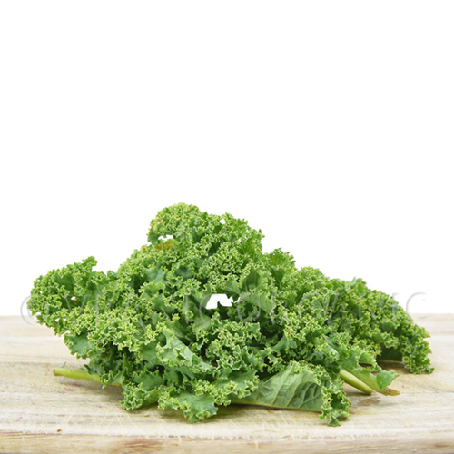 Fresh Organic Curly Kale in pack 100 grams