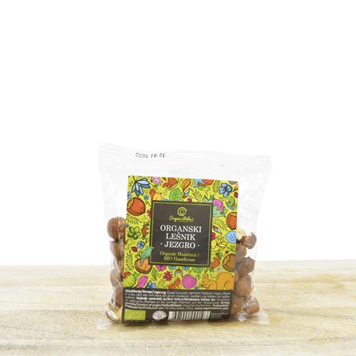 Organic cleaned hazelnuts 100g