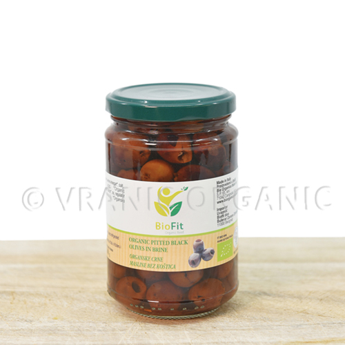 Organic Olives without bones (cleaned) 280g