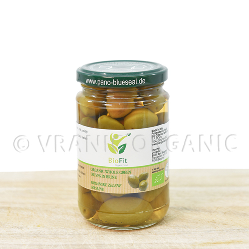 Organic Olives with bones 280g
