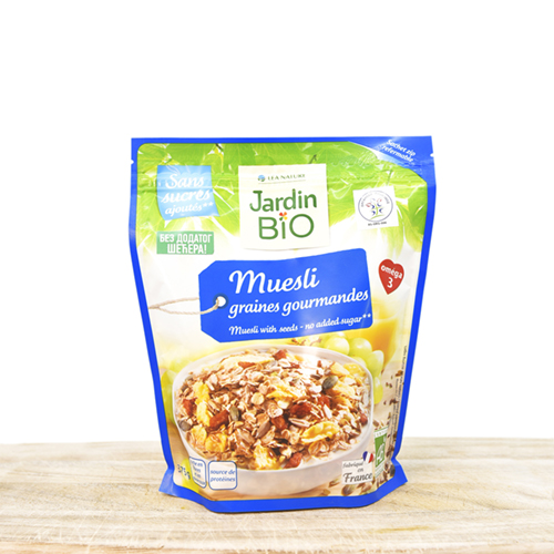 Mueasi with seeds & raisins 375g (no sugar added)