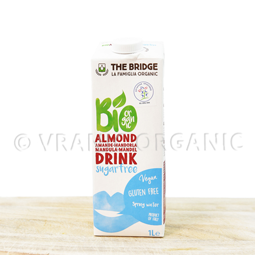 Organic rice milk with almond 1l