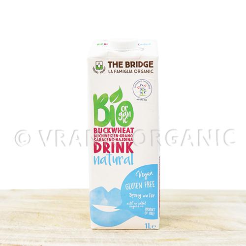 Organic buckwheat milk 1l