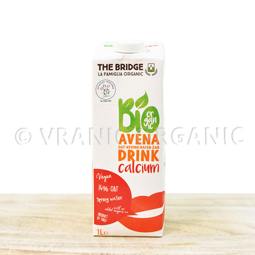 Organic Oat drink with calcium 1l