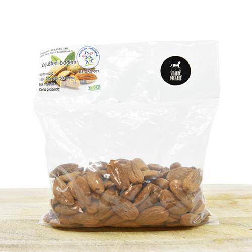 Organic almond's  (pack 200g)