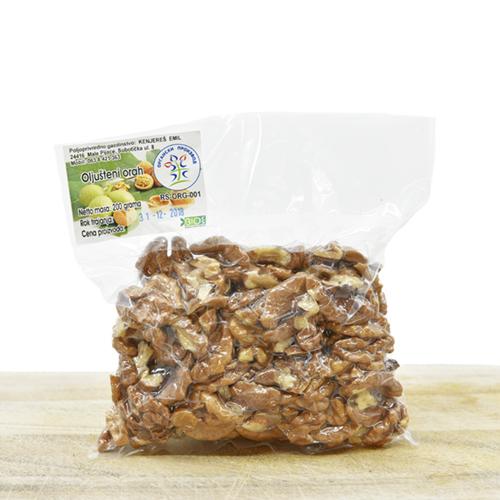 Organic cleaned walnuts 200g