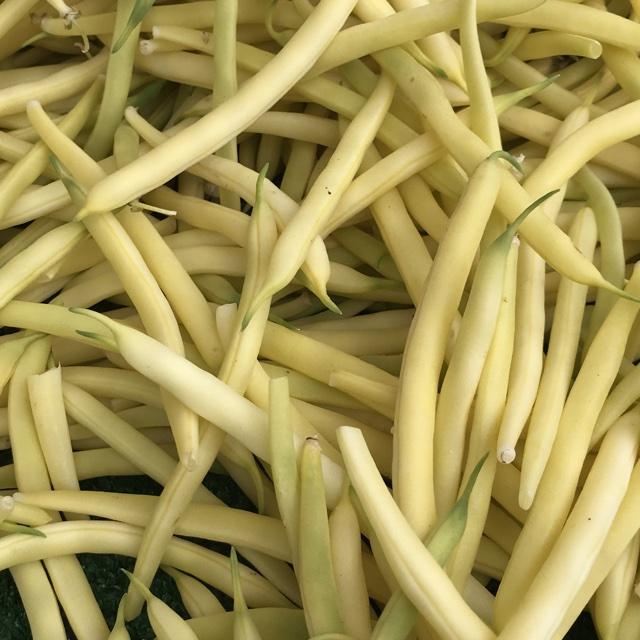 Fresh Organic Yellow String Beans (pack 250g)