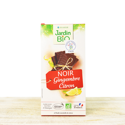 Bio chocolate with ginger 100g