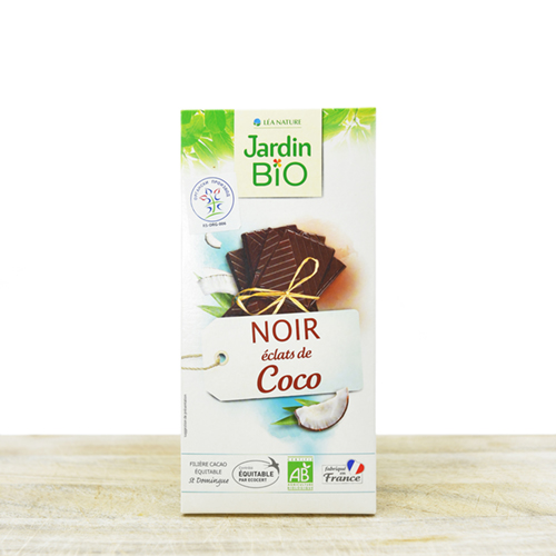 Organic chocolate with coconut 100g