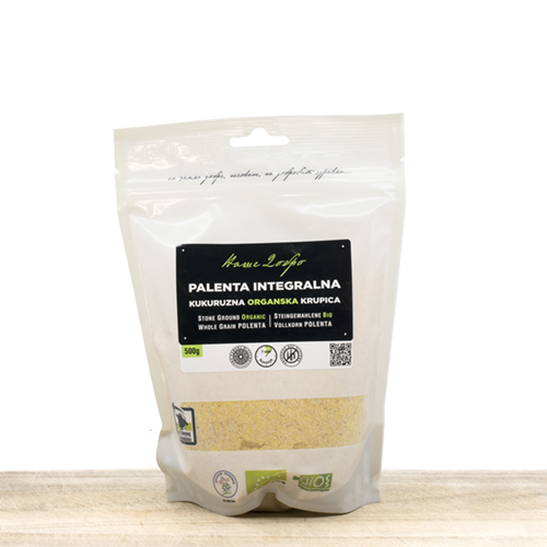 Organic Whole Grain Corn Palenta 500g