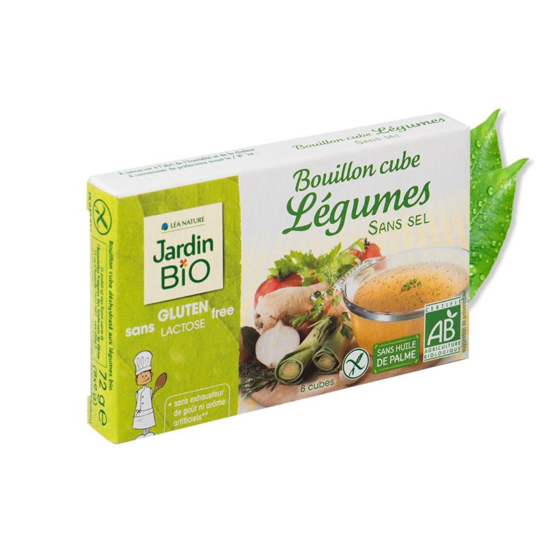 Organska kocka za kuvanje supe sa povrćem (8 x9g) - bez soli, palminog ulja i bezglutena