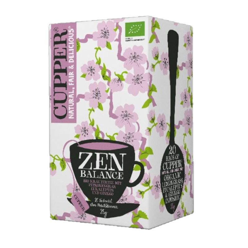 Organic herbal tea mixture - Zen balance