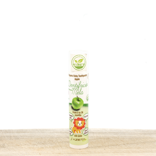 Organic Baby Toothpaste 0-36 months 50ml - with apple