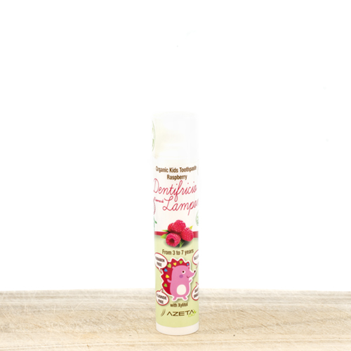 Organic Toothpaste for Kids  3-7 years old -  - raspberry flavor -50ml