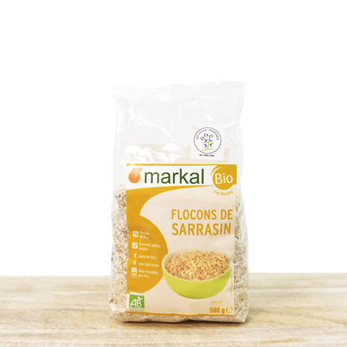 Bio buckwheat flakes pack 500g