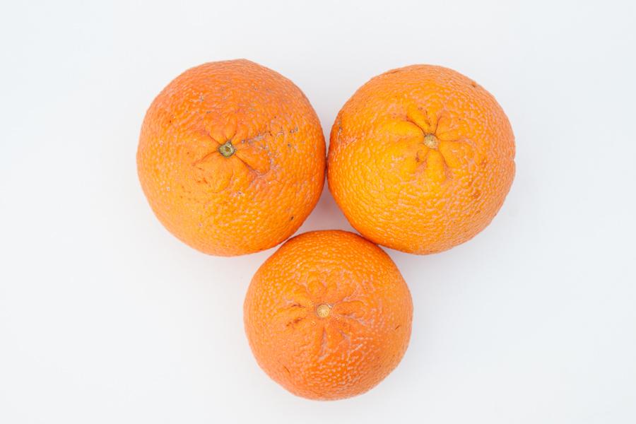 Organic oranges (price per kilo)