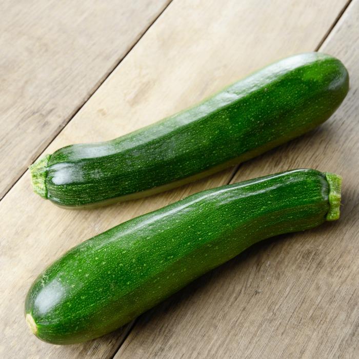 Organic zucchini in pack 420g
