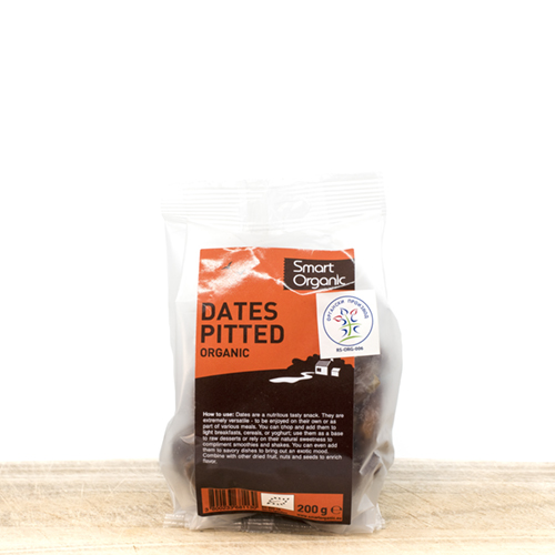 Organic Pitted Dates - in Pack 200g