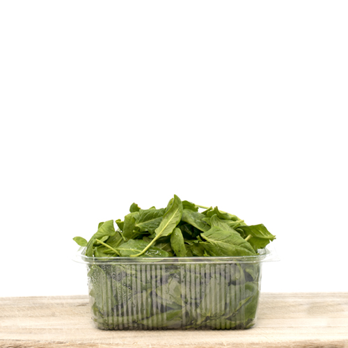 Fresh Organic Baby Spinach (pack 100g)