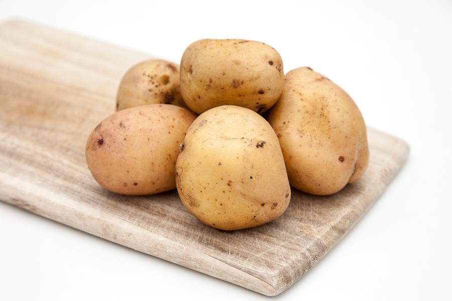 Organic White Potato (per kilo)
