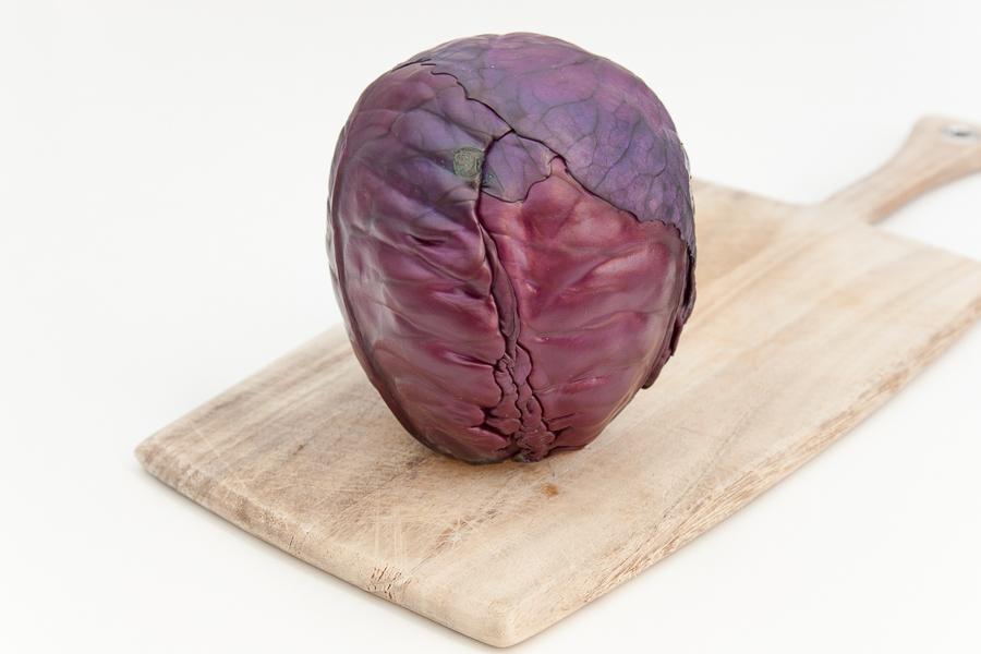 Organic red cabbage (per kilo)