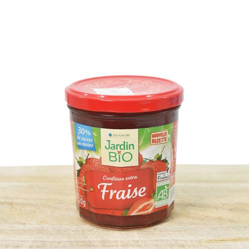 Organic strawberry jam 320g