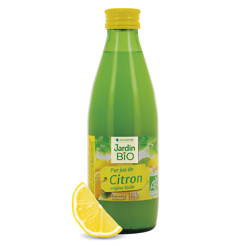 Organic cold pressed lemon juice (250ml)