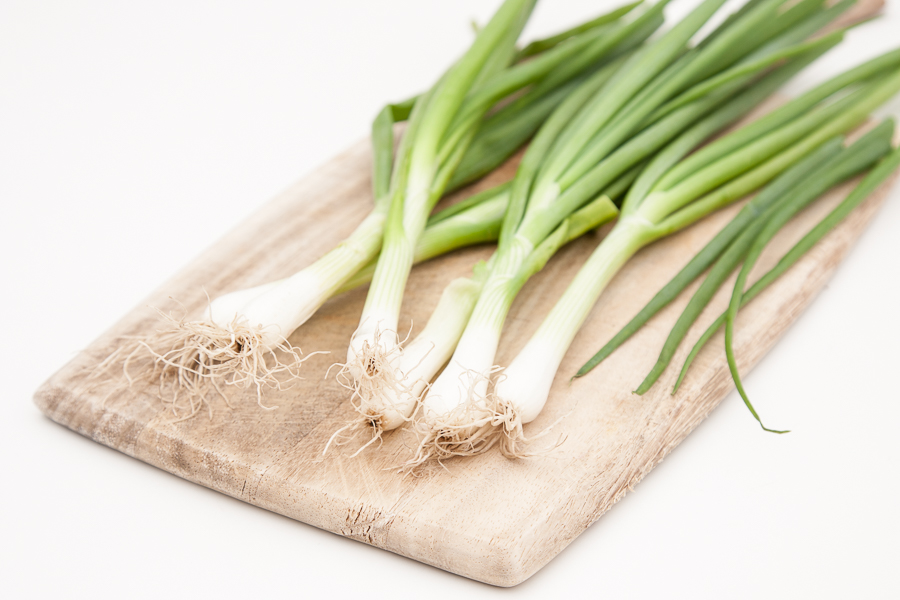 Organic onion / scallions (bunch)