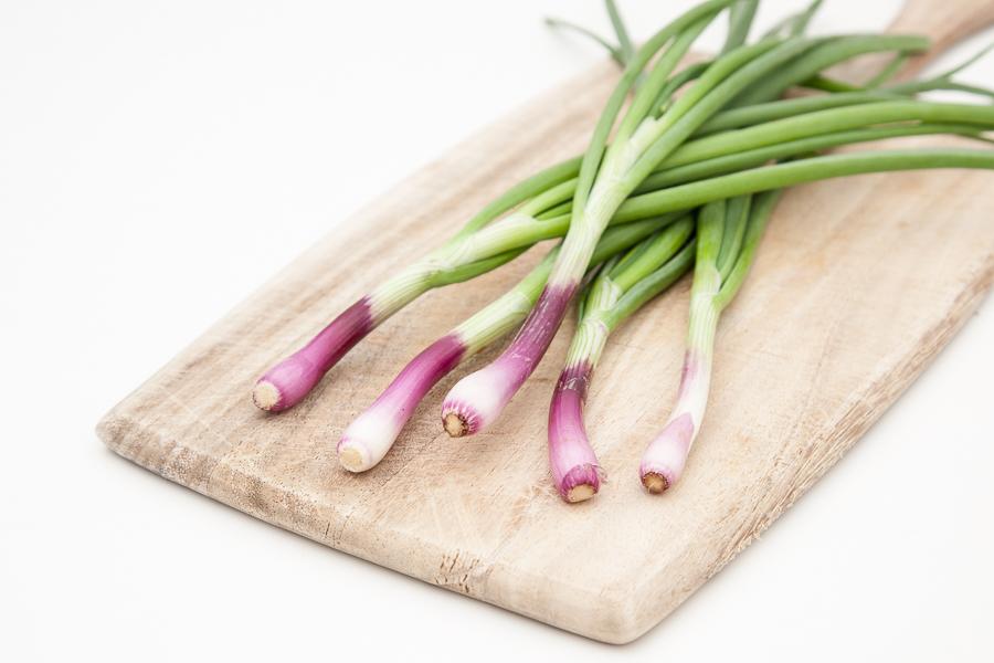 Organic spring garlic (bunch)