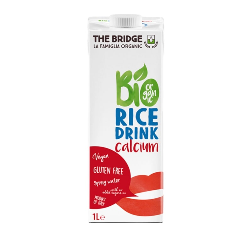 Organic rise drink with calcium 1L