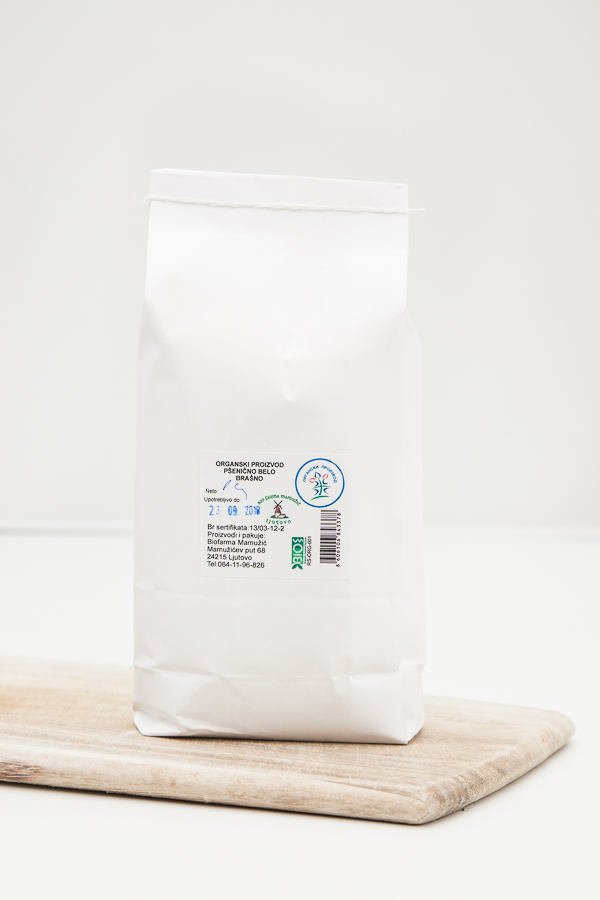 Organic White Wheat Flour 1kg