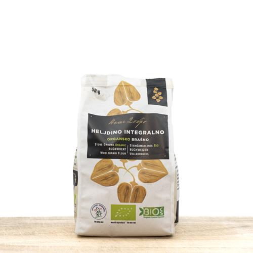 Organic Whole Grain Buckwheat Flour 500g