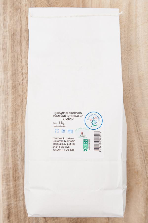 Organsko integralno pšenično brašno 1kg