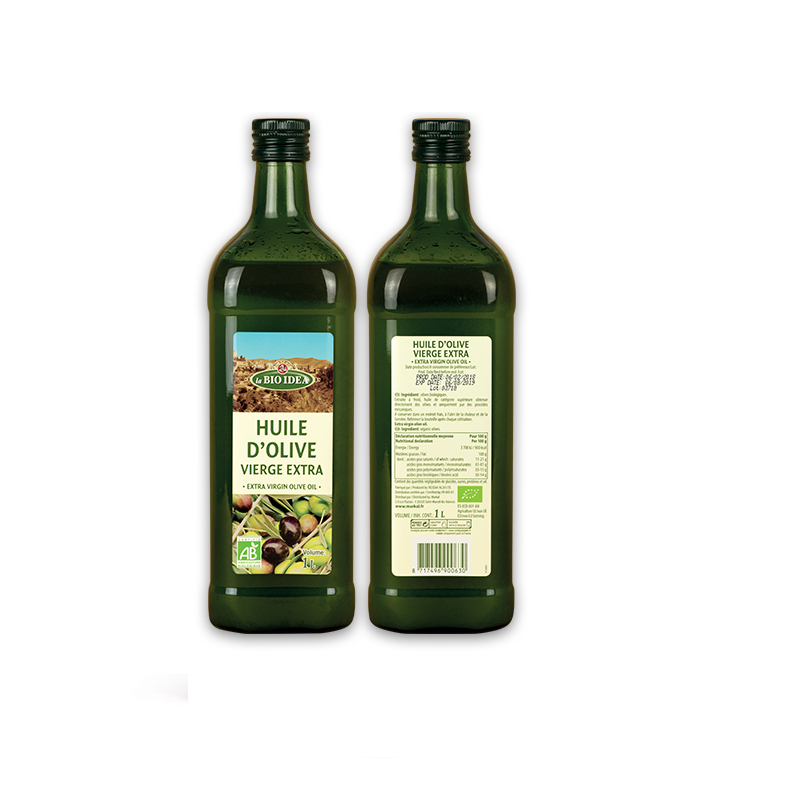 Organic olive oil extra virgin 1l