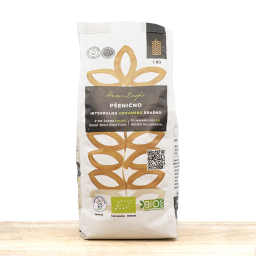 Organic Wheat Whole Grain Flour 1kg