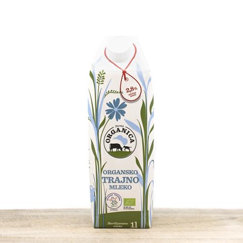 Organic UHT long life milk 1l
