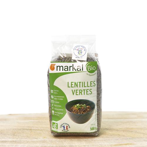 Organsko zeleno sočivo pakovanje 500g