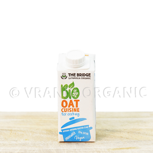 Organic oat for cooking 200ml