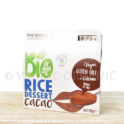 Organski Pirinčani dezert sa kakaom 4x125g