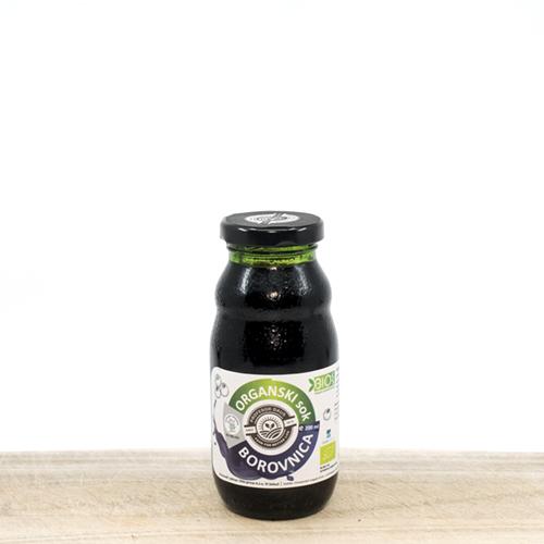 Organski sok borovnica 200ml