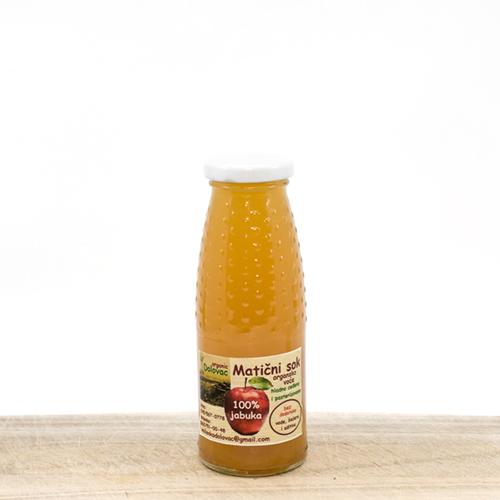 Cold Pressed Organic Apple Juice 200ml