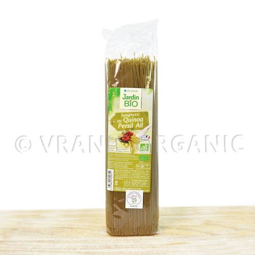 organic Spaghetti with quinoa, parsley and garlic 500g