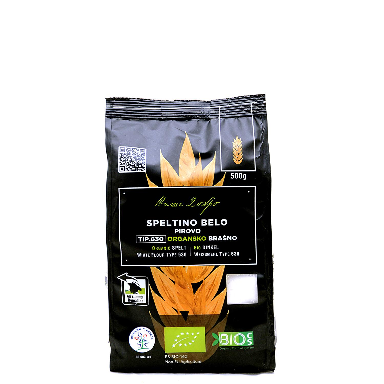Organic Spelte White Flour tipe 630 (pack 500g)