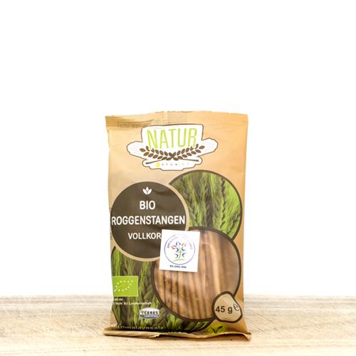 Organic Salted Rye Sticks 45g
